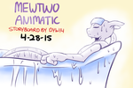Mewtwo Animatic Promo Art 1 by DYW14