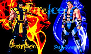 Fire VS Ice by IamSubZero