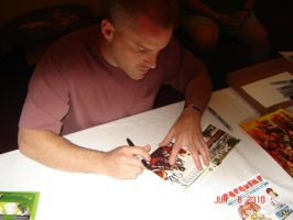 Sac-Con: Roger Craig Smith by Hellsender