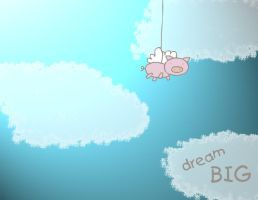 Dream Big 'wallpaper' by Darianella