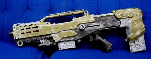 longshot custom paint job by Art-Minion-Andrew0