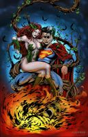 poison ivy gets the bat by rcardoso530