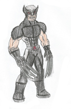 X Force Wolverine by Jmp01