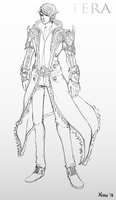 TERA- High Elf Sketchup by Tsureiyu