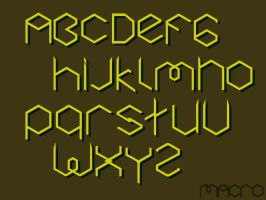 Makro typeface 00 by Yourmung