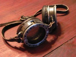 Steam-Punk Goggles by Bleakborn