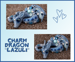 Wee Charm Dragon Lazuli by balletvamp