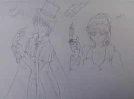 Scrooge..anime style by robin97531