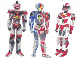 VR Troopers - 20 years 2.0 by LavenderRanger