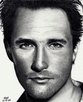 YOUNG Matthew McConaughey by Doctor-Pencil