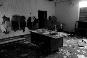 Abandoned School Office by Isaacashtox