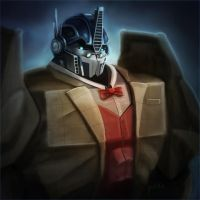 Optimus Librarian by CaptainPeru