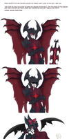 Old Aatrox doodles from tumblr. by Ravermore