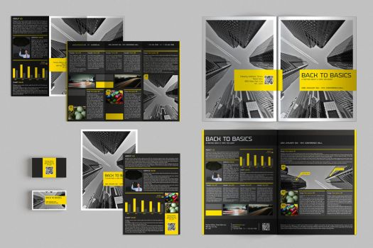 Set of Brochures / Stationery 04 by andre2886