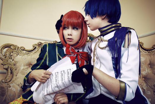 Haruka and Masato by SonyaMouse