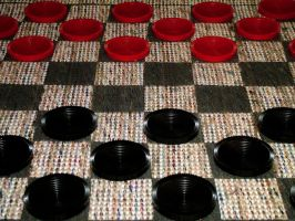 Checkers by JensStockCollection