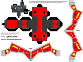 Cubee - Laserbeak by CyberDrone
