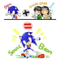cross over = sonic boom by shamcy