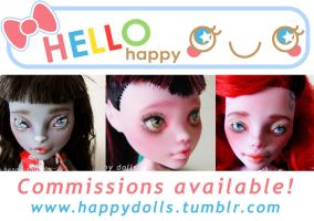 monster high repaints commissions info FINALLY by hellohappycrafts