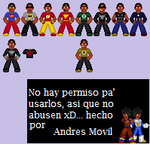 Super heroes by Movil-Andres