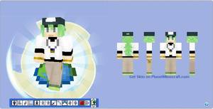 Minecraft Skin - N from Pokemon Black / White by Hermesbird04