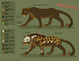 Feline Adoptable -Sold! by The-Hare