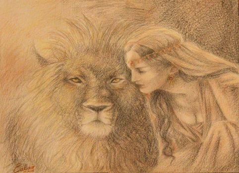 Thou has loved the Lion, mighty in strength by ealair