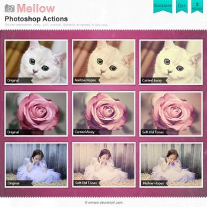 Mellow Photoshop Actions by *Wnison