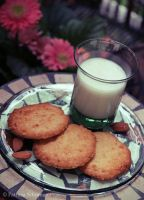 Orange Almond Cookies by DarkPati