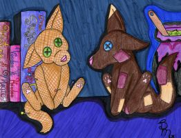 Voodoo and Patch by Butterfly-Aria