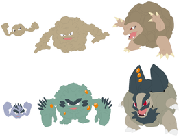 Geodude, Graveler and Golem Base