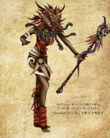 Diablo-III-Female-WitchDoctor by MasterKenny