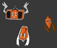 Rotom Concept Forms Colored by ravenfanboy64
