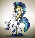 Shining Armour Attack Mode by Dori-to