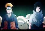 Naruto and Sasuke by BoruChin