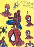 Spiderman sketch by 0Anonymous0