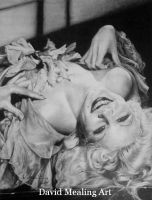 Jean Harlow by Drawing-Dude-Dave