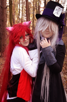 Ciel in Wonderland XVII: Grell and Undy by Minami19