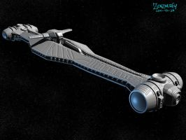 Light Cruiser 3D by zenzmurfy