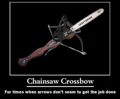 Chainsaw Crossbow by psbox362