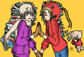 Russia and Canada Matryoshka by iCanadianBacon