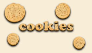 Cookies text by Player-Designer