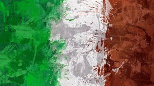Italian Flag Wallpaper by GaryckArntzen