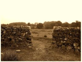 That Old Brick Wall by wildhysteria