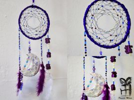 Train Conductor Dreamcatcher by mexicocitykitty