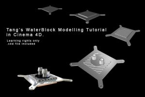 Waterblock modelling Tutorial by DudQuitter