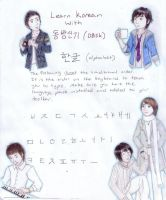 Learn Korean by koumori-no-hime