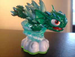 Skylanders Custom GREEN WARNADO by dragontooth21