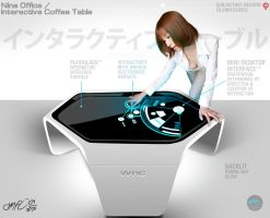 WRC interactive koffie tabule by dmf0