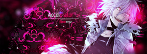 ACCELERATOR/ FB COVER by iBonnyz